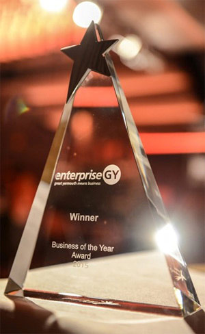 Spirit of Enterprise Business of the Year award 2013